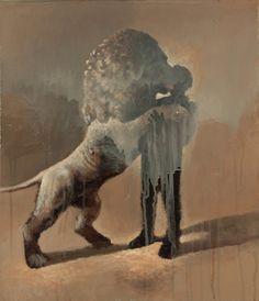 Three words describing Samuli Heimonen and his paintings: Finnish, dark, and twisted. Viviane Sassen, Sculptures, Lion Sculpture, Art Studies, Art Education, Oil On Canvas, Paintings, Artists, Fine Art