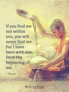 """unless you find """"I am"""" in another which opens your eyes to your Self ** Spiritual Awakening, Spiritual Quotes, Wisdom Quotes, Life Quotes, Author Quotes, Kahlil Gibran, Rumi Poem, Decir No, Inspirational Quotes"""