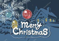 Decoração de Natal feliz — Ilustração de Stock Count Dracula, Vintage Christmas Cards, Merry, Window, Illustration, Vector Art, Christmas Decor, Happy, Windows