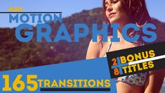 165 Transitions & 28 Titles Pack Motion Graphics - Project for After Effects (Videohive) After Effects Projects, After Effects Templates, Summer Font, Motion Design, Motion Graphics, Good Music, Infographic, Web Design, Typography