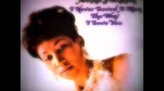 aretha franklin i never loved a man - YouTube