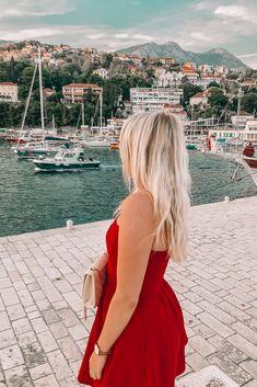 Top place to visit in Montenegro; Herceg Novi. #Montenegro #Balkans #Europe European Road Trip, European Travel, Wanderlust Travel, Asia Travel, Beautiful Places In The World, Most Beautiful, Montenegro Travel, Travel Through Europe, See World