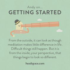 Andy on Getting Started