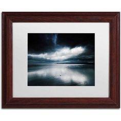 Trademark Fine Art 'Fade to Black' Canvas Art by Philippe Sainte-Laudy, White Matte, Wood Frame, Size: 11 x 14, Multicolor