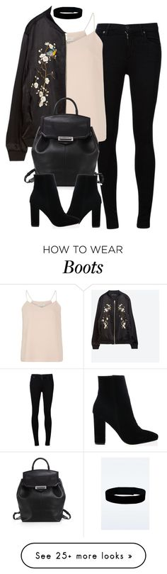 """""""OOTD"""" by maddie1128 on Polyvore featuring Citizens of Humanity, SELECTED, Zara, Alexander Wang, Urban Renewal and ootd"""