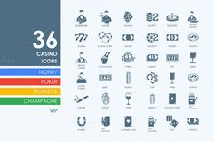 28 construction icons by Palau on Creative Market