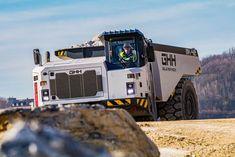 GHH – Studio Heikki Naulapää Oy Mining Equipment, Heavy Machinery, New Trucks, Design Projects, Tractors, Random Things, Industrial, Construction, Studio