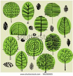 Find Art Sketching Set Vector Trees Symbols stock images in HD and millions of other royalty-free stock photos, illustrations and vectors in the Shutterstock collection. Thousands of new, high-quality pictures added every day. Vector Trees, Vector Art, Doodle Drawings, Doodle Art, Posca Art, Plant Illustration, Arte Floral, Tree Art, Art Lessons