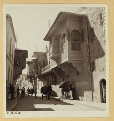 A street in Aleppo French Mandate Syria 17th July 1938.