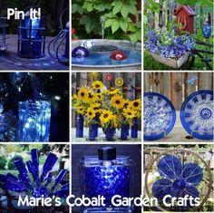 Marie's Cobalt Garden crafts Pin it