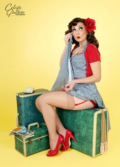 Pin-up Girls | Celeste Giuliano Photography