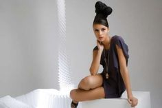 PetOrly's Models Rock Towering Hairstyles for 'Future Perfect' #hairstyles trendhunter.com