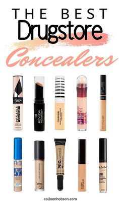 The Best Drugstore Concealers In can find Best drugstore makeup 2019 and more on our website.The Best Drugstore Concealers In 2019 Beste Concealer, Best Drugstore Concealer, Drugstore Makeup Dupes, Make Up Dupes Drugstore, Best Eyebrow Products Drugstore, Elf Dupes, Makeup Products, Skin Products, Makeup Ideas