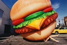 David Lachapelle Death by Hamburger