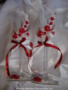 """Купить Свадебный набор """"Шарм"""" - свадебные аксессуары, свадебные бокалы, Готовимся к свадьбе"""