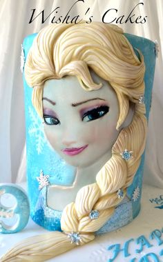 Elsa Cake #Provestra #Skinception #coupon code nicesup123