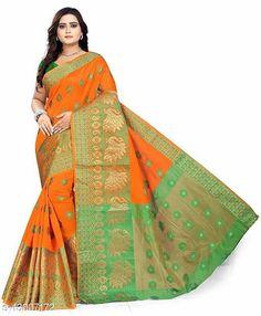 Sarees Banita Graceful Sarees Saree Fabric: Banarasi Silk Blouse: Separate Blouse Piece Blouse Fabric: Banarasi Silk Multipack: Single Sizes:  Free Size (Saree Length Size: 5.5 m, Blouse Length Size: 0.8 m)  Country of Origin: India Sizes Available: Free Size   Catalog Rating: ★4.1 (543)  Catalog Name: Aagyeyi Petite Sarees CatalogID_2532914 C74-SC1004 Code: 644-13007172-3111
