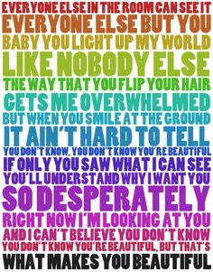 Songtext von One Direction - What Makes You Beautiful Lyrics