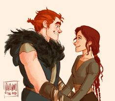 how to train your dragon... by johannathemad. awww this is sweet