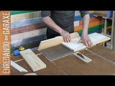 Cómo cortar madera para un proyecto de carpintería - YouTube