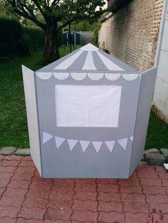 DIY - Théâtre marionnettes bois