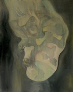 Batmans Boyfriend oil on canvas 41 x 51 cm / 2014