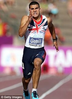 Adam Gemili! He is a great athlete and I would love to become like him when I grow up!