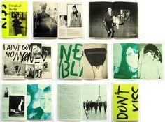 Ahonen & Lamberg - BURFITT FANZINE Fanzine for fashion brand Burfitt, France.