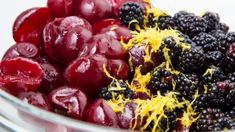 The blackberry is an edible fruit made by any of several species in the Rubus genus of the Rosaceae family. Healthy Fruits, Fruit Salad, Blackberry, Make It Yourself, Vegetables, Top, Fruit Salads, Blackberries, Vegetable Recipes
