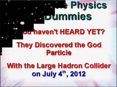 God Particle Physics For Dummies on iTunes.  The God Particle Book that is audible.  The God Particle Audible book.  The God Particle on iTunes.  itunes god particle book, god particle physics for dummies.com