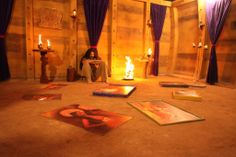 Check out an exclusive picture from Kamasutra 3D sets.