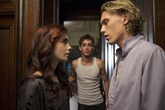 The Mortal Instruments | Lily Collins and Jamie Campbell Bower
