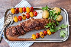 Punaviinipossua grillissä Sausage, Steak, Food And Drink, Pork, Beef, Chicken, Dinner, Cooking, Recipes