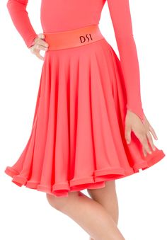 DSI Molly Juvenile Latin Dance Skirt 1091J | Dancesport Fashion @ DanceShopper.com