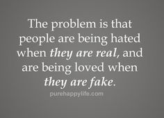 #quotes - The problem is...more on purehappylife.com