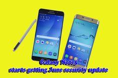 Galaxy Note5 starts getting June security update