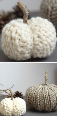 Autumnal Colorful Crochet Pumpkins. This soft, chunky pumpkin is a great project, that will take your autumn decor to the next level. The best part is not only how easy and fun to do is this pumpkin, but also how amazing it looks. I'm sure you'll love this, and you can be sure, they will last you forever! #freecrochetpattern #amigurumi #pumpkin