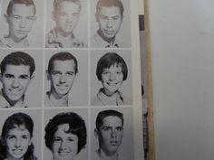 1961 Diane Keaton SANTA ANA HIGH SCHOOL Santa Ana California YEARBOOK Ariel