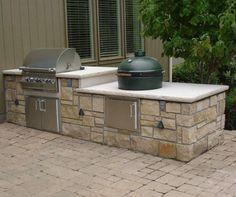 29 best outdoor kitchen images big green egg outdoor kitchen rh pinterest com