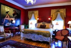 The Southern Mansion is an award winning Cape May, NJ bed and breakfast on the town's gorgeous beach shore. Queen, King & Master Suites available - Book Now! Victorian Bed, Southern Mansions, Cape May, Bed And Breakfast, Master Suite, The Incredibles, Places, Furniture, Home Decor