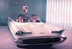 What the Original Batmobile was based on! - The Futura was Lincoln's last show car until 1963 and really their last dedicated show car not based on a production car until 1987.