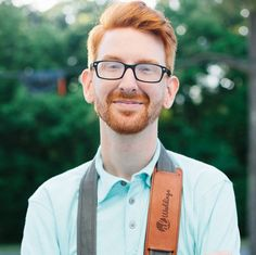 Getting ready to shoot a wedding this weekend? @sara_alweddings snapped a photo of @alex_alweddings with his Graphite #Fotostrap at a recent wedding they were photographing.   #fotospotting
