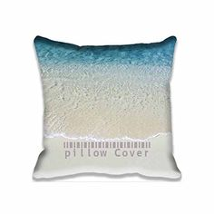 18x18inch Square Pillow Case Beauty Mac Beach Throw Pillow Case Cushion Cover Two Sides $7.56 Size · Washer MachineSatin ...