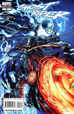 Ghost Rider Vol. 6 # 28 (Variant) by Marc Silvestri