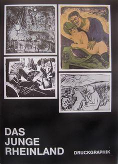 Das Junge Rheinland numeriert Katalog 2 Orig.-Holzschnitte E.Viegener F.M.Jansen