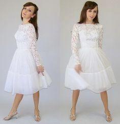 1950s vintage wedding dresses
