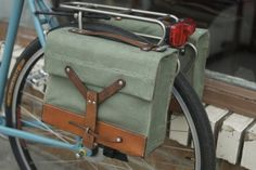 Pedal in Style With the 18 Best Bike Baskets + Panniers via Brit + Co.