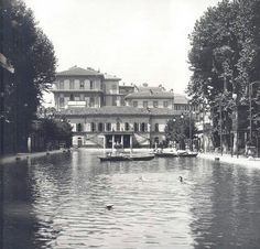 """""""Bagni Diana"""" - The first pubblic swimming pool of Milano"""