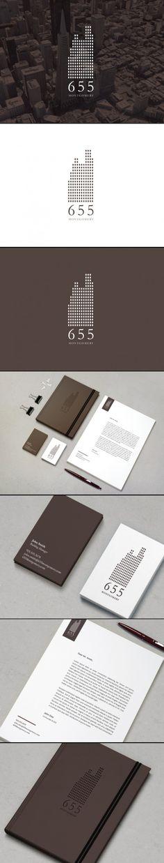655 Montgomery rebrand. #branding #graphicdesign #commercialrealestate