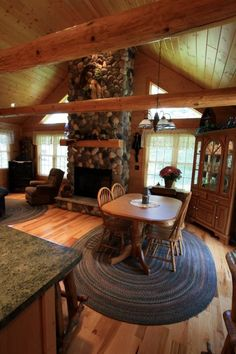 This Golden Eagle Log Home is the Countryside II with some slight changes. The rooms are good sized even though the square footage is under 1300 feet.